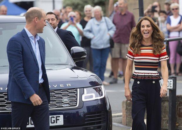 Знаменитости: Яхтенная прогулка: Кейт Миддлтон и принц Уильям приняли участие в благотворительной регате