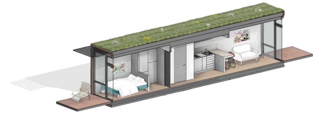 Общество: У Британії планують побудувати житло із морських контейнерів рис 3