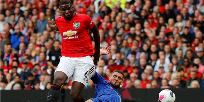 Спорт: Английская Премьер-лига: Манчестер Юнайтед разгромил Челси, Арсенал победил Ньюкасл