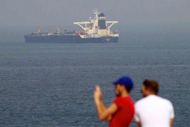 Происшествия: Власти Гибралтара освободили капитана и членов экипажа иранского танкера