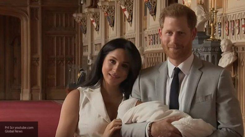 Общество: Инсайдер сообщил, на кого больше похож сын принца Гарри и Меган Маркл