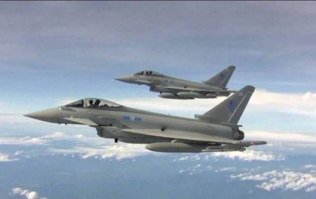 Общество: Британские истребители перехватили российские Су-30 над Балтийским морем