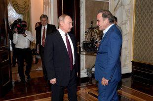 Общество: В Великобритании снимут сериал о Путине