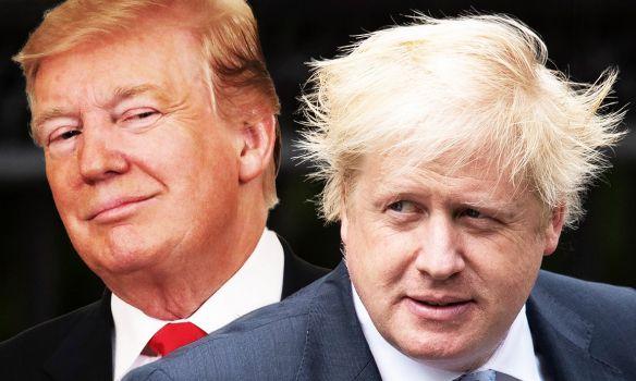 Общество: Трамп сравнил с оковами членство Британии в ЕС и пообещал Джонсону крупную торговую сделку после Brexit