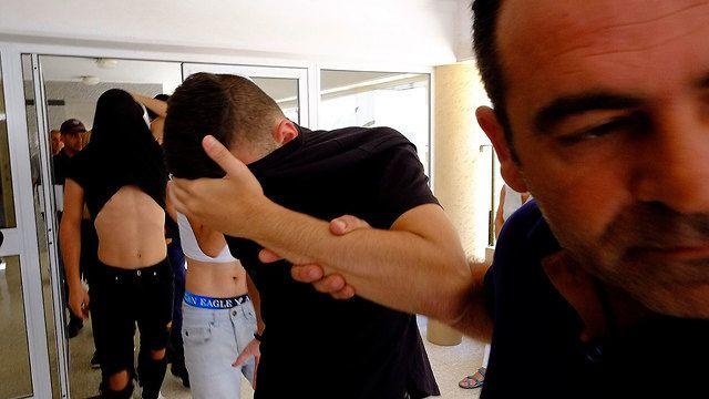 Задержание израильтян на Кипре. Фото: AP