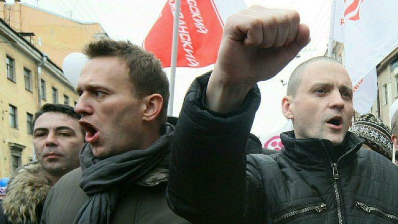 Общество: НТВ опубликовал доказательства поддержки незаконных акций Навального агентами США