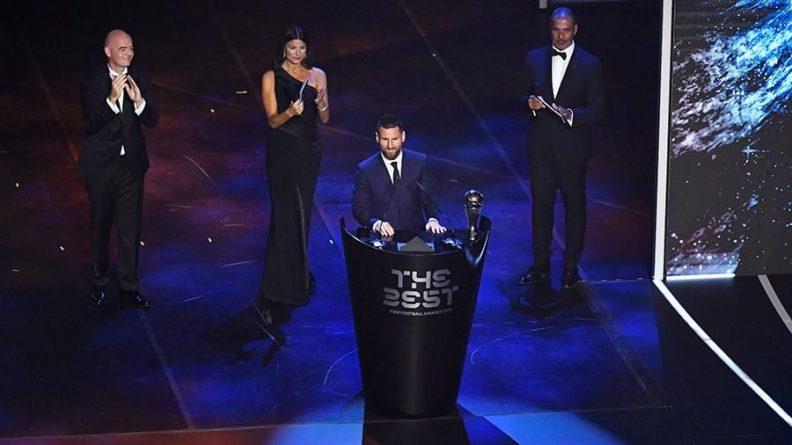 Общество: Лионеля Месси признали лучшим футболистом года по версии ФИФА