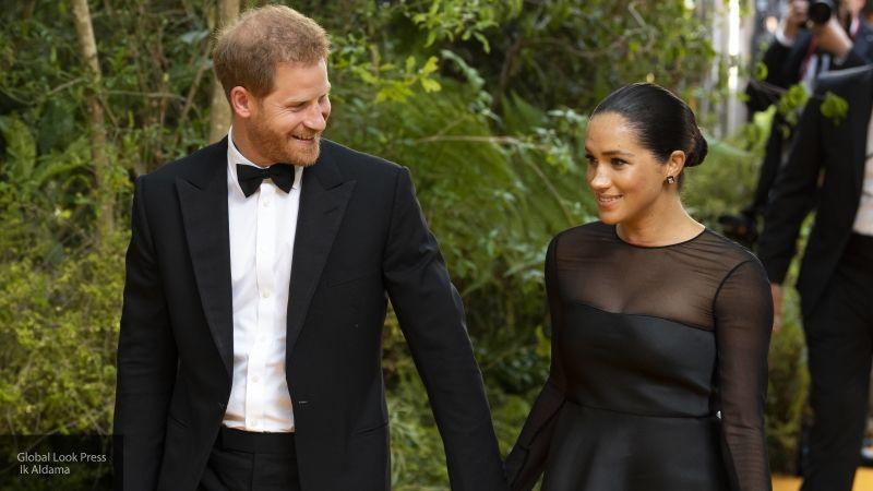 Принц Гарри и Меган Маркл нарушили королевский протокол, попросив называть их по именам
