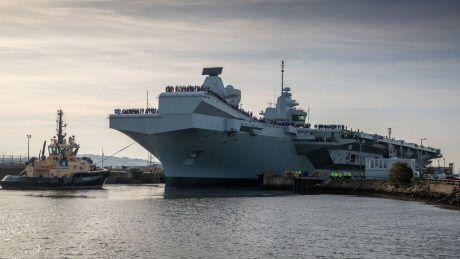 Общество: Британия направит патрулировать океан свою первую авианосно-ударную группу