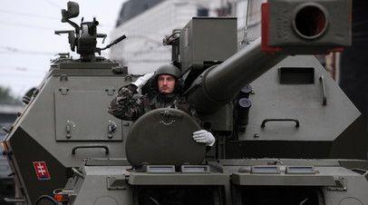 Военнослужащий армии Словакии