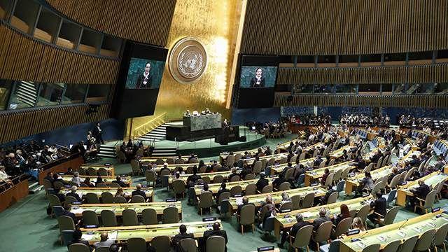 Общество: Американцы потеряли право на ООН