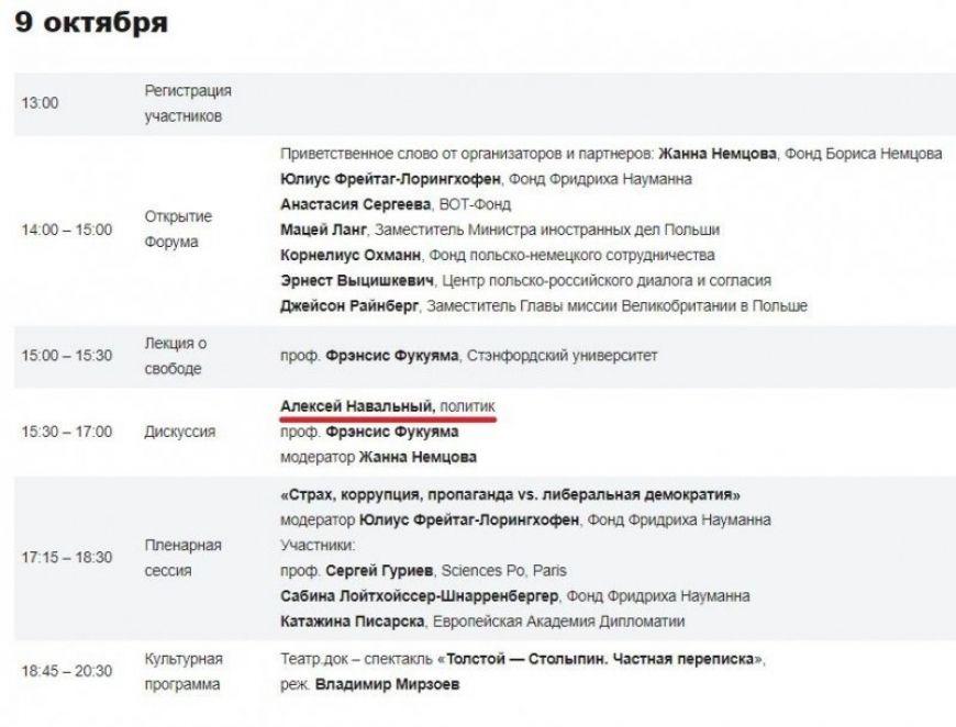 Ходорковский на «Форуме Немцова» представит новые схемы антироссийской деятельности