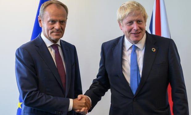 Общество: Туск: Основание для договора по Брекзиту подготовлено, но Лондон в сомнении