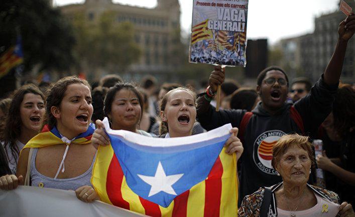 Общество: La Vanguardia (Испания): международные СМИ продолжают следить за беспорядками в Барселоне