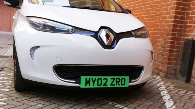 Общество: Электромобили в Великобритании получат особые номера