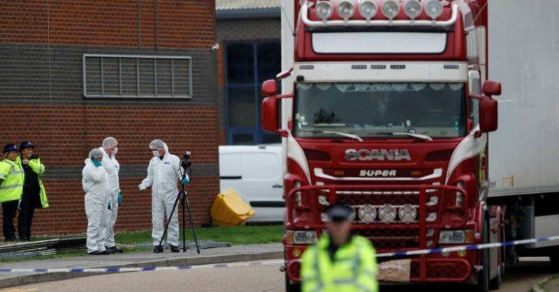 Общество: В Британии по делу о гибели 39 китайцев арестованы два человека