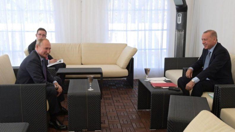 Общество: Песков раскрыл детали подготовки текста меморандума по Сирии Путиным и Эрдоганом