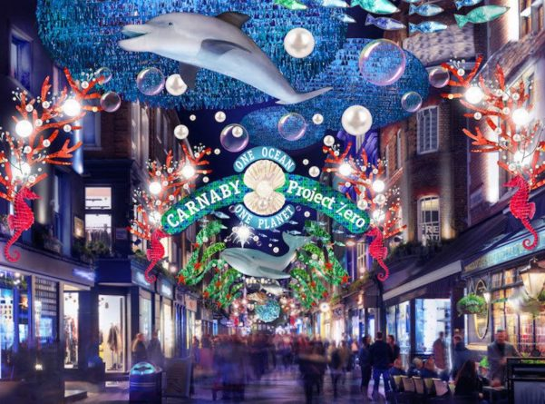 Общество: К Рождеству над Карнаби-стрит поплывут киты и дельфины