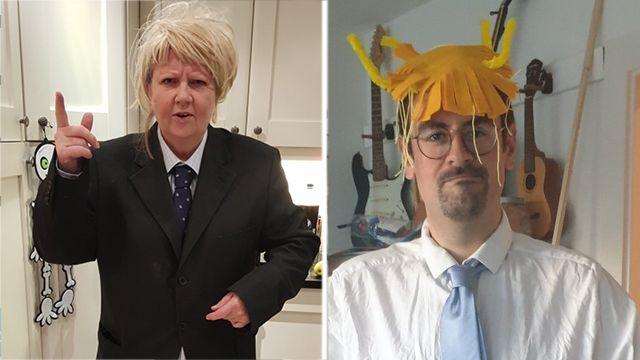 Общество: Британцы пугают друг друга Борисом Джонсоном и Brexit на Хэллоуин