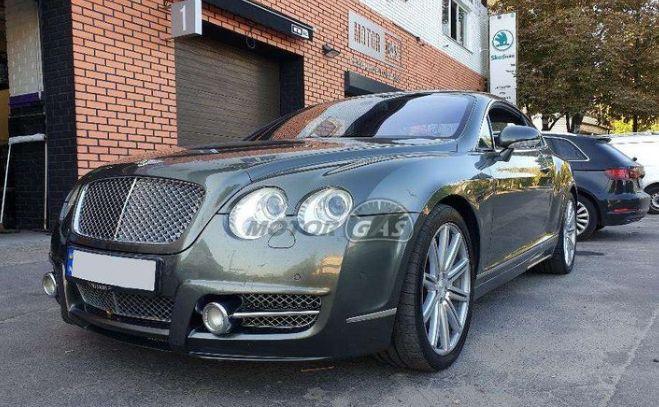 Общество: В Украине засняли дорогой Bentley с ГБО