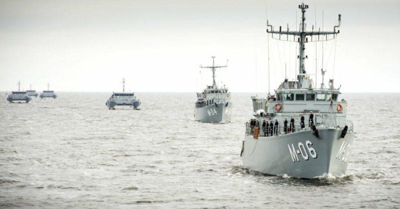 Общество: В Ирбенском проливе начинаются учения НАТО по поиску мин
