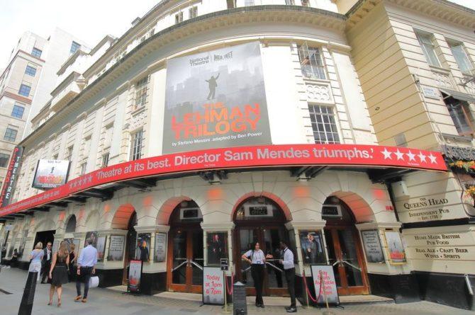 Общество: В лондонском театре Piccadilly обрушился потолок