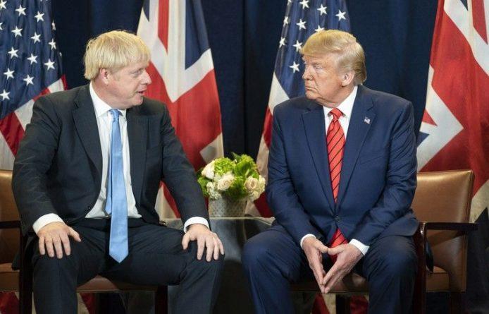 Общество: Джонсон не хочет общаться с Трампом во время его визита в Великобританию