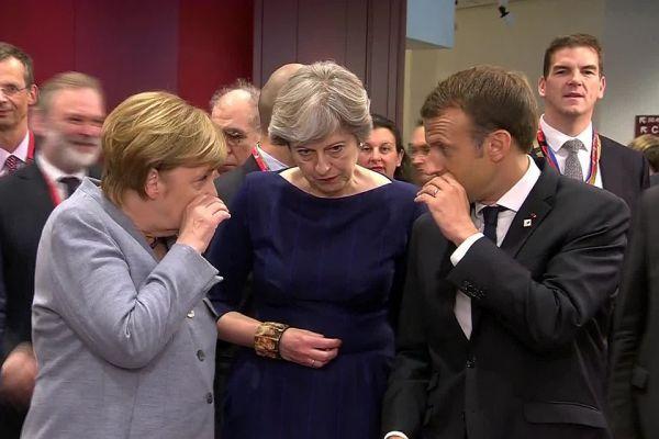Общество: «Британия ихсдерживала, нотеперь Франция иГермания орут друг надруга»