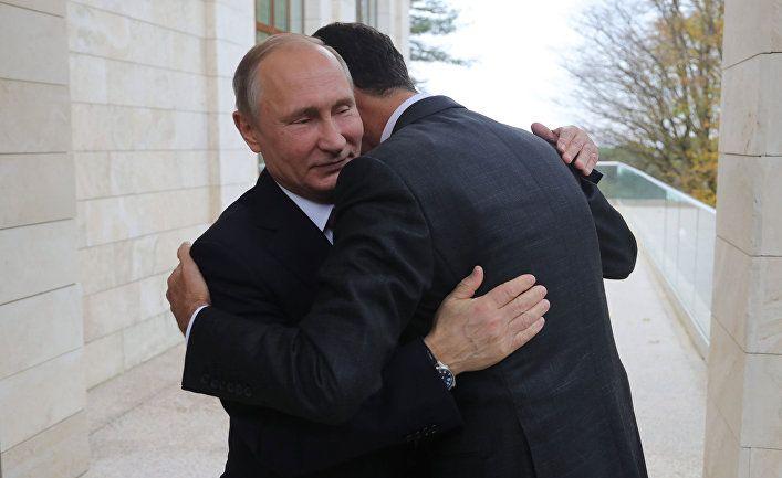 Общество: Al Araby (Великобритания): Россия проинформировала Асада об истечении срока его полномочий?