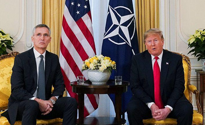 Общество: Le Figaro (Франция): Дональд Трамп посчитал оскорблением слова президента Макрона о НАТО