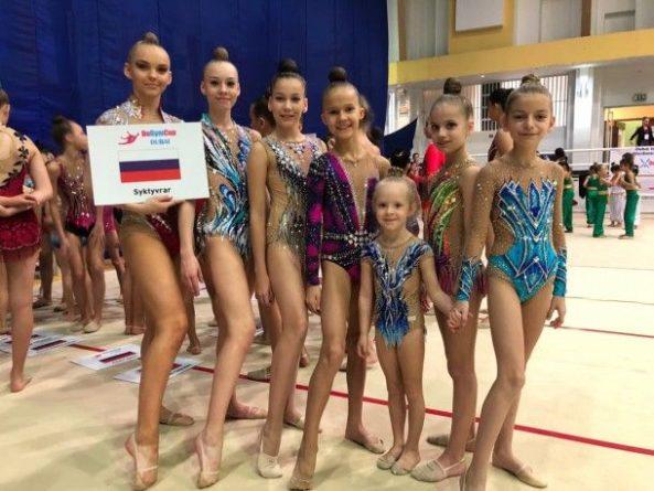 Общество: Гимнастки из Сыктывкара сотворили сенсацию на международном турнире в Дубае