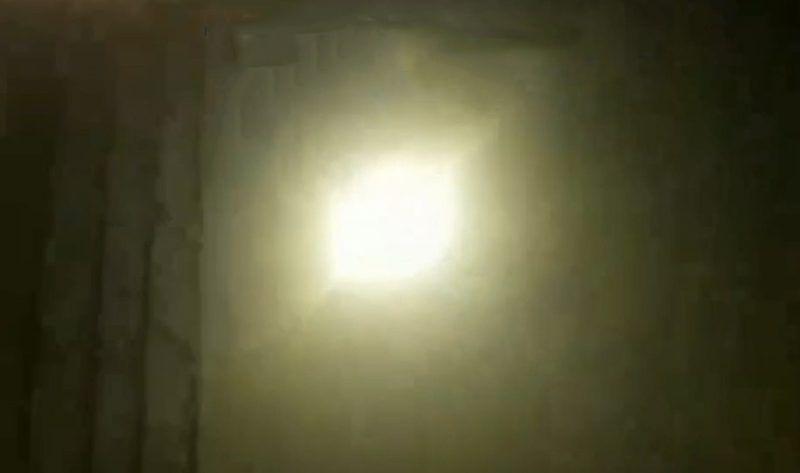 Предполагаемая атака ракетой  украинского Боинга  попала на видео
