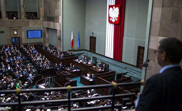 Общество: Польские СМИ: резолюцию сейма о «равной ответственности» Германии и СССР за начало второй мировой – поддерживаем!