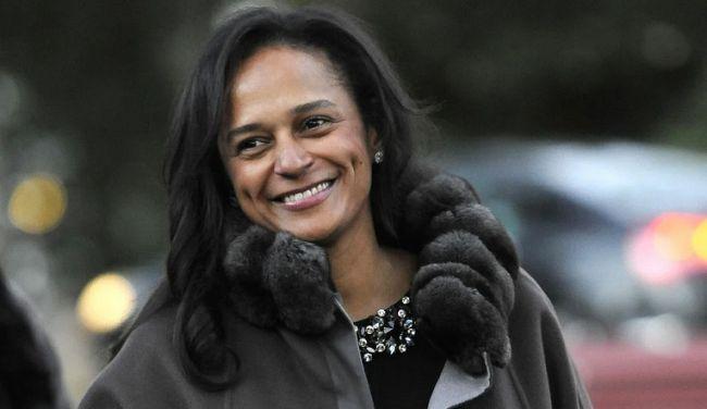 Общество: Африканская миллиардерша Изабель душ Сантуш оказалась гражданкой России