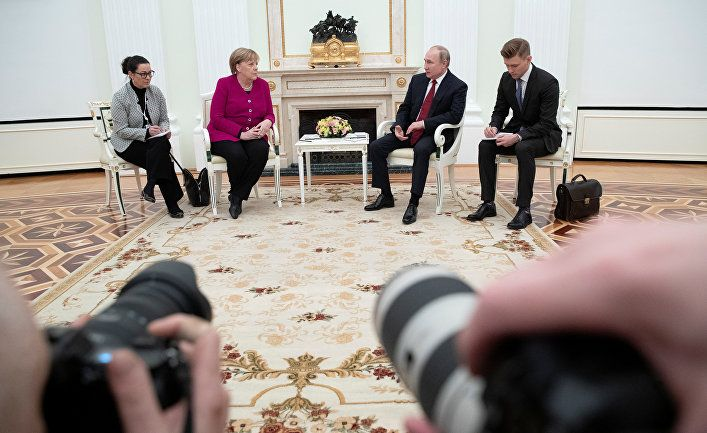 Общество: Der Tagesspiegel (Германия): без Путина не обойтись