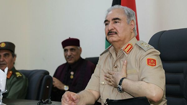Общество: Ливийский маршал поблагодарил Путина иподдержал мирную инициативу России