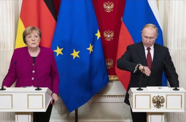 Общество: Приезд Путина иЭрдогана перевёл Берлин навысший уровень мер безопасности
