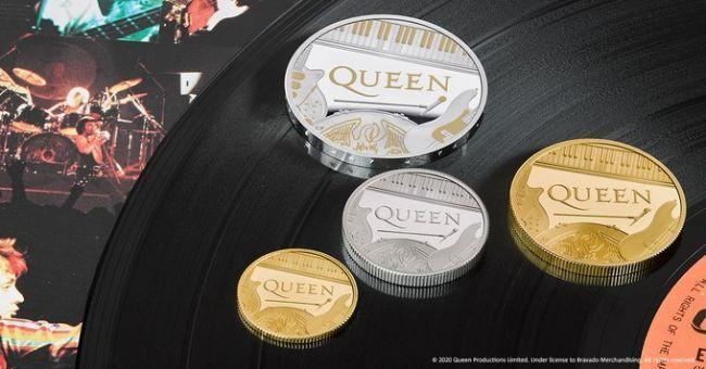 Общество: ВБритании выпустили памятную монету вчесть группы Queen
