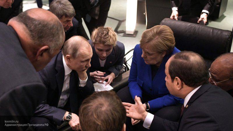 Путин стал самой главной фигурой на конференции по ливийскому кризису в Берлине