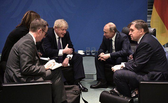 Общество: Джонсон и Путин: Британия Брексита встретилась с возрождающейся Россией, и они друг другу не понравились (Forbes, США)