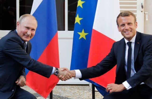 Общество: Макрон согласился с предложением «дорогого друга Владимира» обсудить «защиту мира»