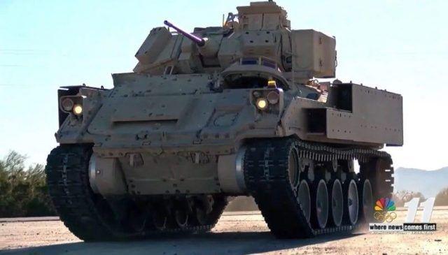 Общество: Армия США начала испытания новейшей боевой машины Bradley с новой системой подвески