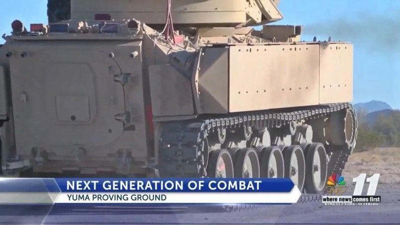 Армия США начала испытания новейшей боевой машины Bradley с новой системой подвески