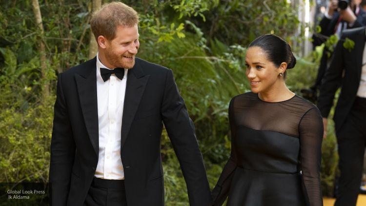 Принц Гарри и Меган Маркл впервые публично выступили после ухода из королевской семьи