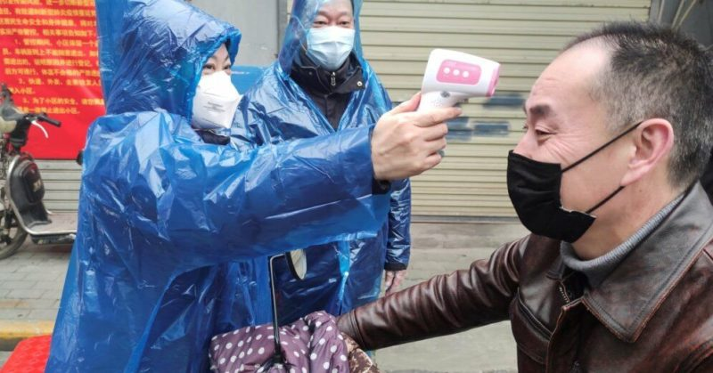 Общество: В Китае зафиксирован резкий скачок заражений коронавирусом