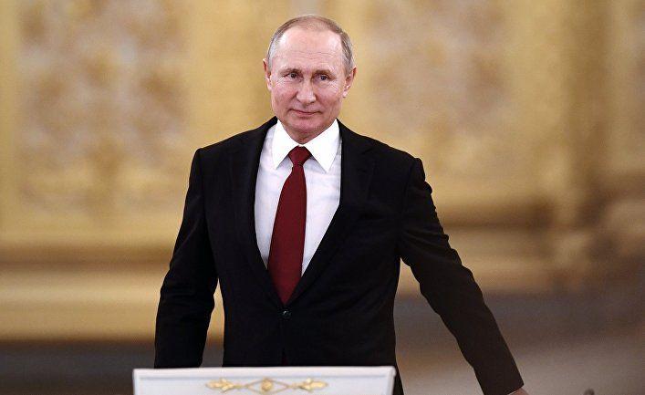 Общество: Al Araby (Великобритания): Путин останется у власти навсегда