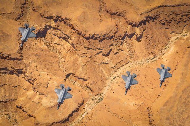 Общество: ВВС США и Израиля провели совместные военные учения с участием самолетов F-35 (ФОТО)
