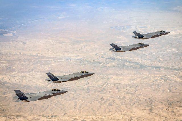 США-Израиль проводят учения друг с другом на самолетах F-35