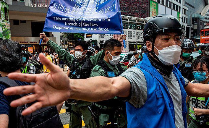 Общество: The New York Times (США): Китай утверждает план по усмирению Гонконга, игнорируя бурные протесты во всем мире