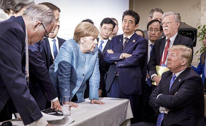 Общество: The New York Times (США): Трамп отложил саммит «Большой семерки» и призвал Россию поучаствовать